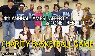 James Lafferty & One Tree Hill Charity Basketball Game