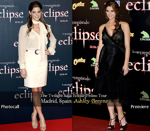 Ashley Greene's Night & Day Looks for Madrid