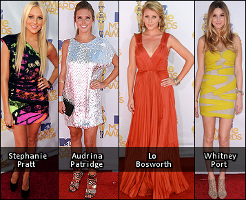 FASHION REPORT: 2010 MTV Movie Awards