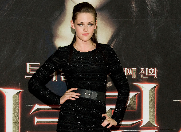 Kristen's Back-to-Black in South Korea