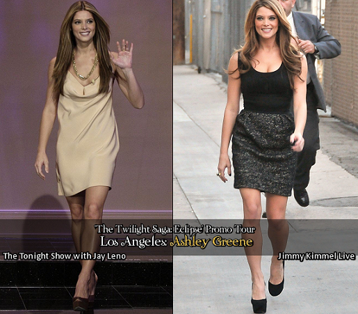 Talk Show Fashion: Twilight's Ashley Greene