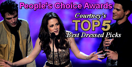 Top 5 Best Dressed Picks: People's Choice Awards