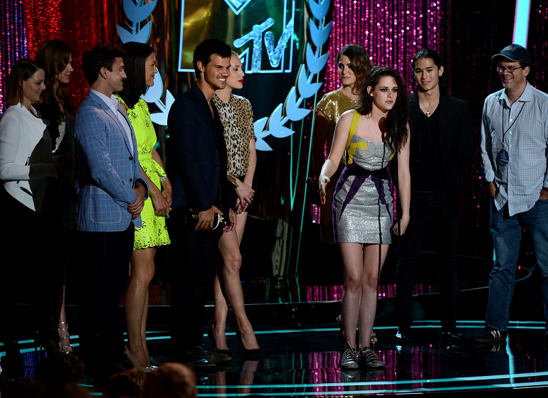 2012 MTV Movie Awards: 'Breaking Dawn – Part 1' Wins Movie of the Year