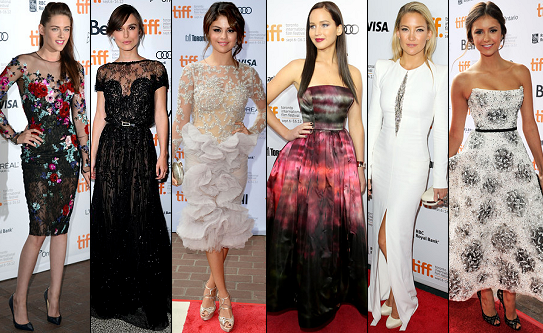 POLL: Who Was 'Best Dressed' at the 2012 Toronto International Film Festival?
