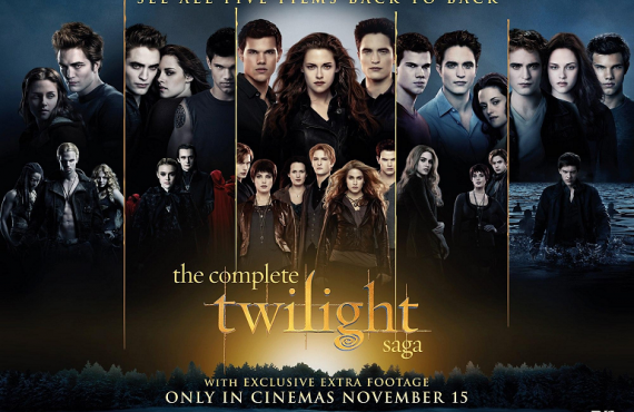 'The Twilight Saga' Movie Marathon followed by Breaking Dawn