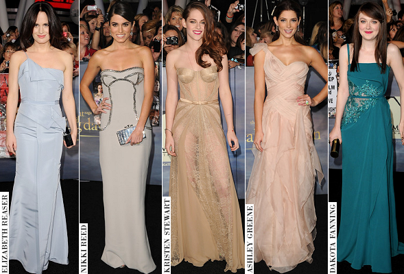POLL: Who Was 'Best Dressed' at the Twilight: Breaking Dawn – Part 2 LA Premiere?