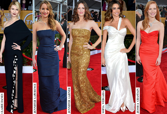 POLL: Who Was 'Best Dressed' at the 19th Annual Screen Actors Guild Awards?